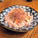 居酒屋 海斗 - ずわい蟹と大根のサラダ¥710