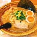 めん処 麒麟児 - ラーメン+味玉