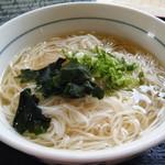 ほうじゅう - ガンバずし定食(ソーメン)