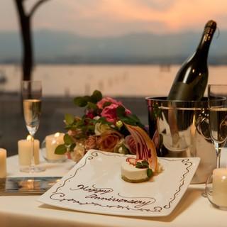 記念日や誕生日、プロポーズなど、さまざまなお祝いのシーンに