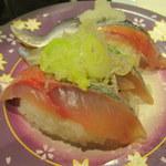 廻る富山湾 すし玉 - 料理写真:サンマ・鯵・いわし