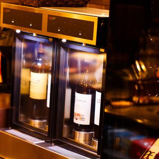 9種類から選べるグラスワイン