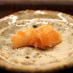 蒼穹 - アオリ烏賊 鱈の卵の真砂和え