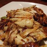 暖龍 - 豚肉とキャベツの炒め物