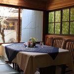 茶房 あゆみ - テーブル席