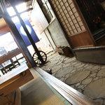 茶房 あゆみ - 趣のある店内