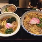大黒屋 - 親子丼セット。そうめんもついて500円台の驚きです。