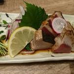 魚バル - カツオたたき