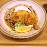 中村麺兵衛 - 鶏から天ぶっかけ