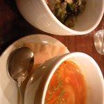 Cafe-Dining SA-KU-RA - スープ&サラダ
