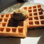 Waffle'S beulah - 白ごまきなこクリーム&けしの実