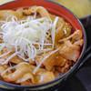道の駅 まくらがの里こが - 料理写真:奥久慈ポーク丼