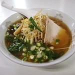 山崎食堂 - 料理写真:元祖おおわにラーメン 並