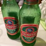 本格水餃子専門 瓦奉店 - 青島ビール