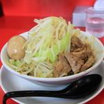 継承 あっ晴れ - 料理写真:つけ麺味玉