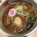 74382739 - ドロドロのダブルスープ (濃厚つけ麺)
