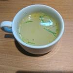 まぜそば凜々亭 - スープ