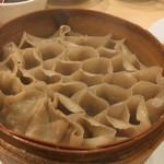 山西亭 - 燕麦のせいろ蒸し麺780円