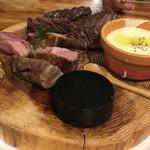 厳選ワイン飲み放題 肉バル横丁 - イベリコ豚、黒毛牛