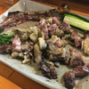 地頭鶏綾 - 料理写真:地鶏の炭火焼  神です