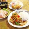 タサニー - 料理写真:2017年9月 タイ風丼セット【ドリンク付いて900円】お得なランチです♪