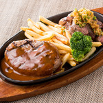 ブッチャーズキッチン - ハンバーグ&サイコロステーキ