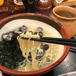 創作郷土料理の店 菊富士 - 麺アップ