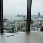ステーキハウス ミディアムレア - 席からの眺め