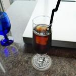 ステーキハウス ミディアムレア - アイスコーヒー