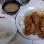 ニューほり江 - かきフライ定食