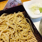 中正屋 - 中正膳のお蕎麦です。
