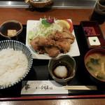東京 今井屋本店 - もも肉の唐揚げ御膳