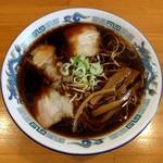 なかよし - 料理写真:正油ラーメン(650円)