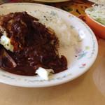 やまねこ軒 - 和牛のカツレツハヤシのソース