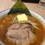 麺屋ななしぐれ - 相方さんの北見味噌王+バター