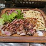 74394435 - 本日のメインディッシュ 豚肉のロースト