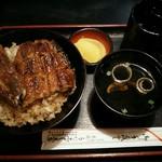 うなふじ支店 - 料理写真:うなぎ丼(上)お吸物付1,900円(税込)