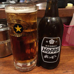 もぢょい有限会社 - ドリンク写真:ホッピーセット 黒 399円