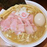 niboshichuukasobasuzuran - 「特製濃厚塩煮干そば」(980円)です