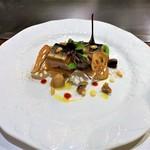 74396656 - 秋刀魚のコンフィと里芋のミルフィーユ仕立て