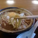 山本屋本店  岐阜柳ヶ瀬店 - 味噌煮込みうどんの麺