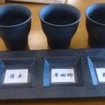 山本屋本店  - 地酒飲み比べセットの銘柄