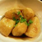亀ちゃん - 里芋のオランダ煮(メニュー外)
