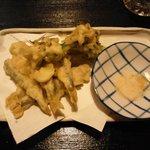 山家料理 鳴瀬 - 天ぷら