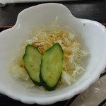 まーちゃんラーメン - サラダ