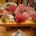 和田屋 - 料理写真:刺身盛り合わせ