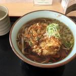 福島松川パーキングエリア 上り - 料理写真:かき揚げ天そば490円