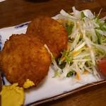 鳥新 - コロッケ 380円