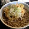 きらく蕎麦小川 - 料理写真:かき揚げそば400円