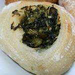 74403308 - 野沢菜のおやきパン